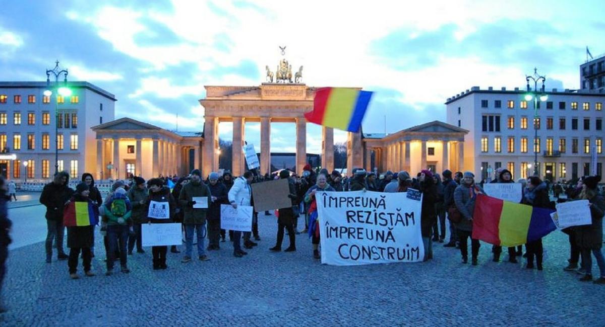 Protest Diaspora Berlin 10 august 2018