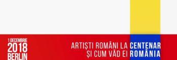 Rumänische Künstler bei der Hundretjahrfeier